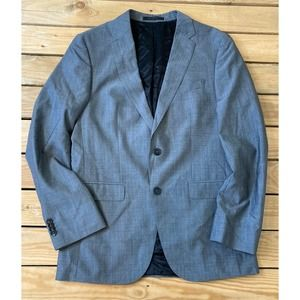New HUGO BOSS Gray Drago 2 Button Up Suit Size 38